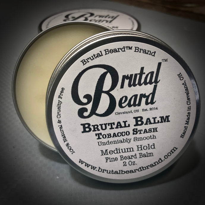 Tobacco Stash Brutal Balm Medium Hold