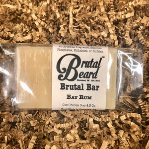 Bay Rum Cold Process Soap Bar