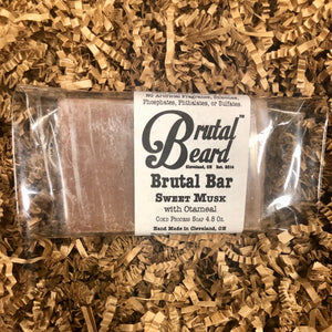 Sweet Musk Cold Process Soap Bar