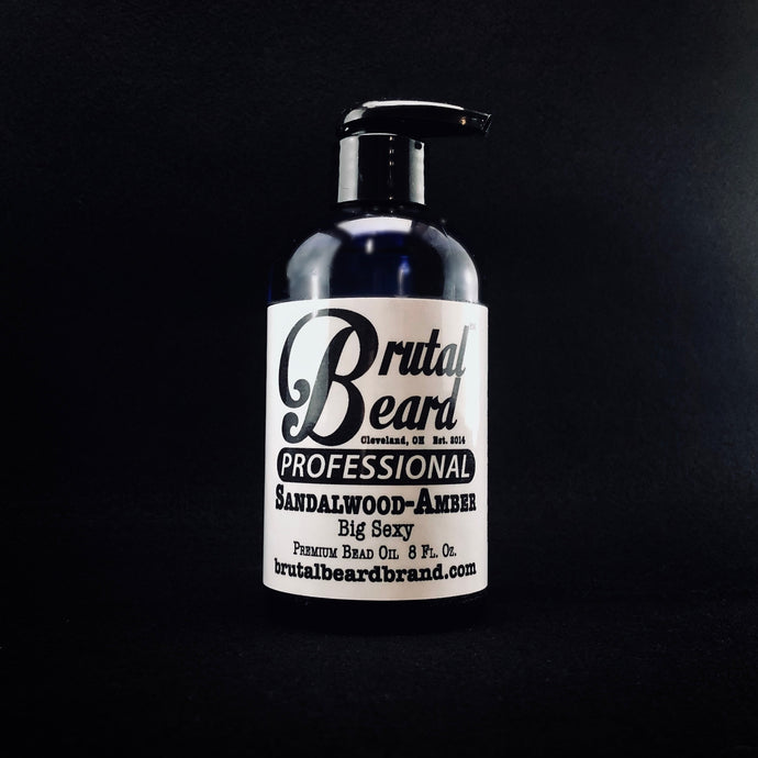 PRO Beard Oil Sandalwood Amber, 8oz.