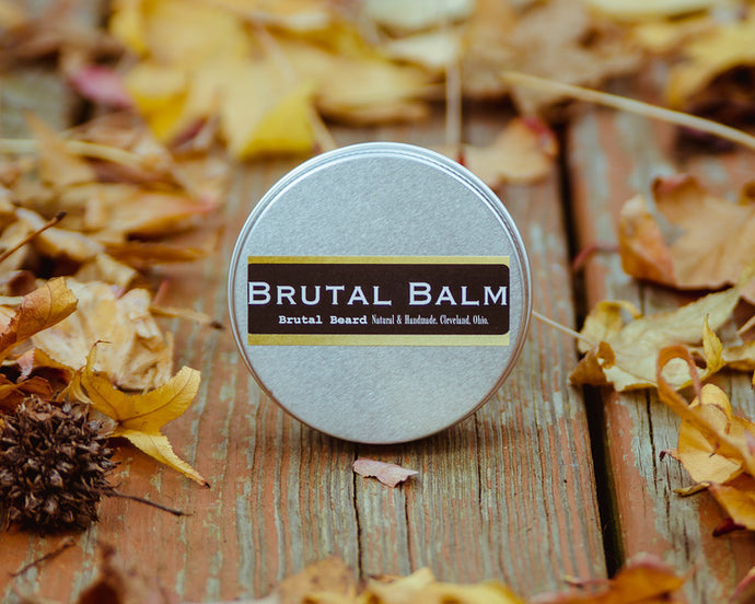 Unscented Brutal Balm Medium Hold