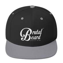 Load image into Gallery viewer, Brutal Beard™ Official Embroidered Snapback - Color Options