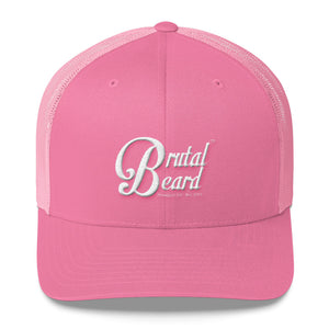 Brutal Beard™ Official Embroidered Women's Trucker Cap - Color Options