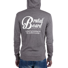 Load image into Gallery viewer, Brutal Beard™ Official Unisex Full-Zip Lightweight Hoodie - Color Options