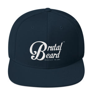 Brutal Beard™ Official Embroidered Snapback - Color Options