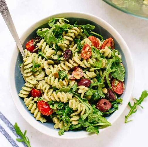 Warm Asian Style Pasta Salad