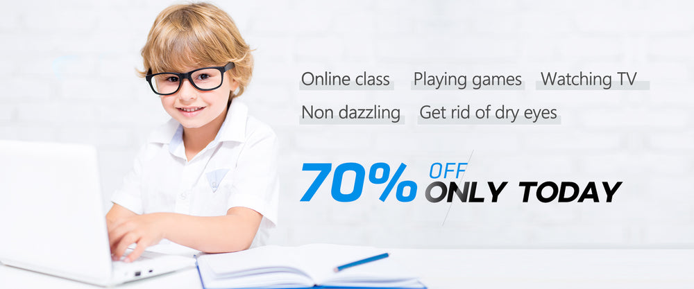 Kids Blue Light Blocking Glasses-home