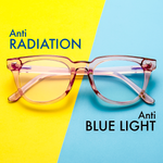 Adults Blue Light Blocking Computer Reading Gaming Glasses For Woman