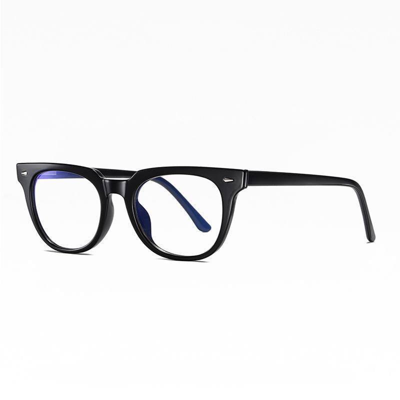 Adults Blue Light Blocking Computer  Reading Gaming Glasses-Black