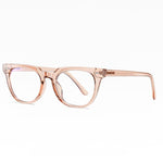 Adults Blue Light Blocking Computer Reading Gaming Glasses-Light Brown Crystal