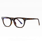 Adults Prescription Glasses Blue Light Blocking Computer Reading Gaming Glasses-Tortoise