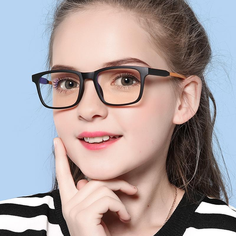 Elves - Kids Blue Light Blocking Computer Reading Gaming Glasses-Matte Black