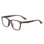 Genius - (Age 7-12)Children Blue Light Blocking Computer Reading Gaming Glasses-Matte Brown