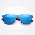 Cool - Natural Wooden Temple UV400 Protective Polarized Sunglasses