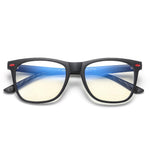 Cutie - (Age 7-12)Children Blue Light Blocking Computer Reading Gaming Glasses-Matte Black