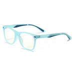 Cutie - (Age 7-12)Children Blue Light Blocking Computer Reading Gaming Glasses - Transparent Blue
