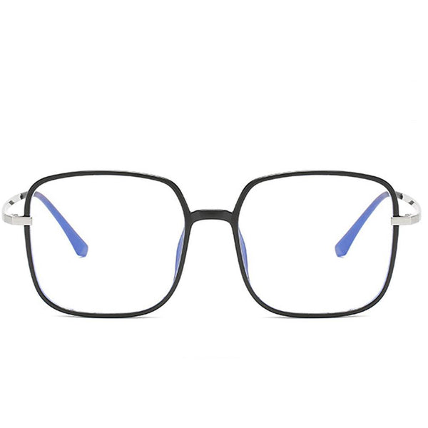 Star - Fashion Blue Light Blocking Computer Reading Gaming Glasses - Matte Black