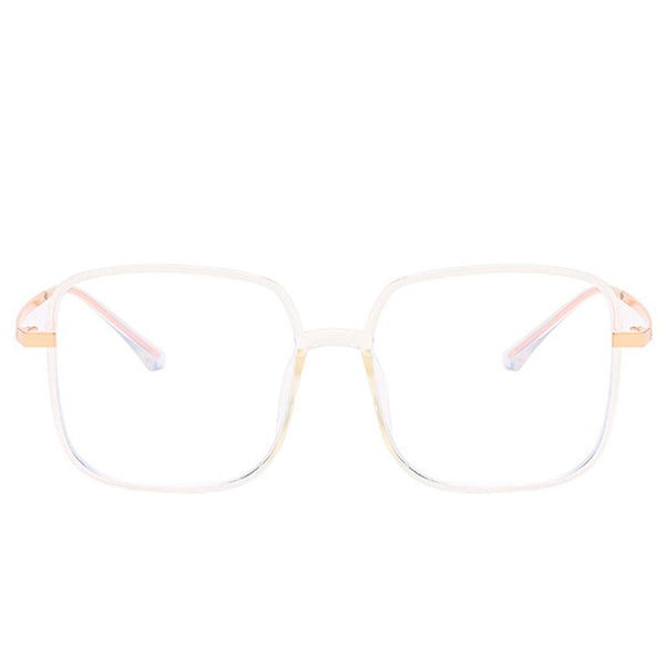 Star - Fashion Blue Light Blocking Computer Reading Gaming Glasses - Transparent
