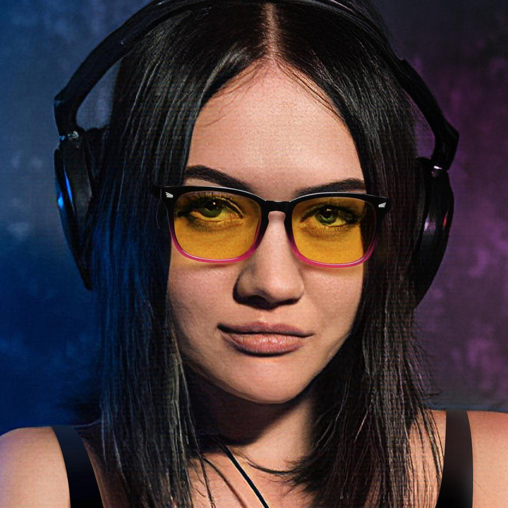 SIERRA - Adults Professional Gaming Glasses Blue Light Blocking Glasses For Woman