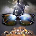 SIERRA - Adults Professional Gaming Glasses Blue Light Blocking Glasses - Green