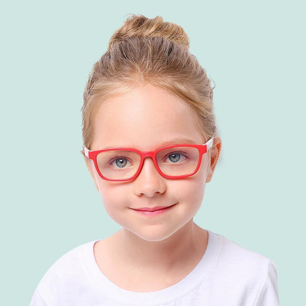 Candy - (Age 3-6)Kids Blue Light Blocking Computer Reading Gaming Glasses