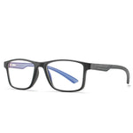 Thoth - (Age 13-18)Teens Blue Light Blocking Computer Reading Gaming Glasses - Matte Black/Grey