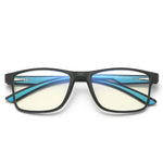 Thoth - (Age 13-18)Teens Blue Light Blocking Computer Reading Gaming Glasses - Matte Black/Blue
