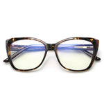 Sky - Fashion Blue Light Blocking Computer Reading Gaming Glasses - Tortoise Shell
