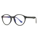 Foresee - Fashion Blue Light Blocking Computer Reading Gaming Glasses - Bright Black