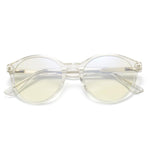 Foresee - Fashion Blue Light Blocking Computer Reading Gaming Glasses - Transparent