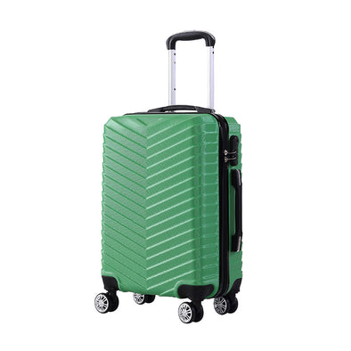 "20"" ABS Carry On Luggage Green Colour"