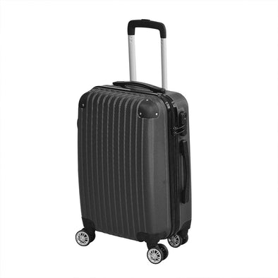 "24"" Cabin Luggage Suitcase Code Lock Hard Shell Travel Case Carry On Bag Trolley"