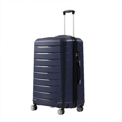 "28"" PP Expandable Luggage Navy Colour"