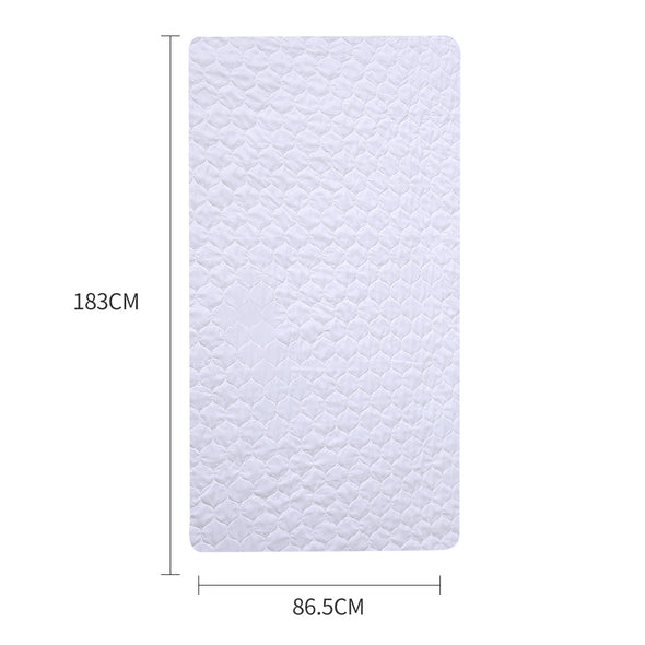 2 Pk 183x86.5cm Underpad Sheet protector