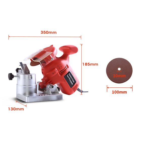 Traderight 220W Chainsaw Sharpener Bench Mount Electric Grinder Grinding Tools