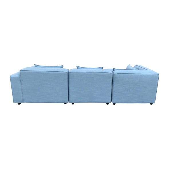 Botanic Sofa Set Sky Blue