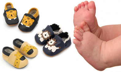 Soft Leather Infant Shoes