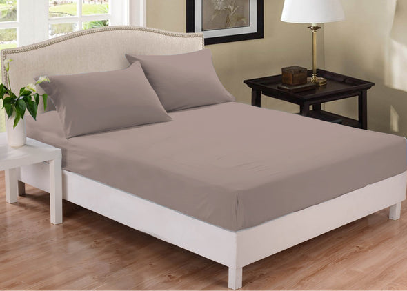 Park Avenue 1000 Thread Count Cotton Blend Combo Set - Single - Pewter