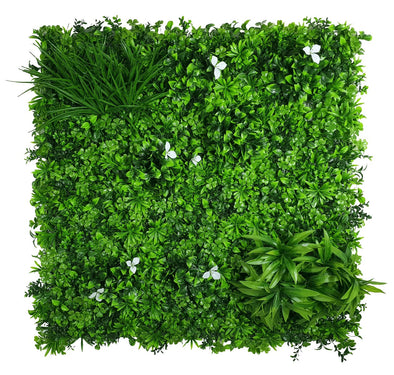 White Oasis Vertical Garden / Green Wall UV Resistant 1m x 1m