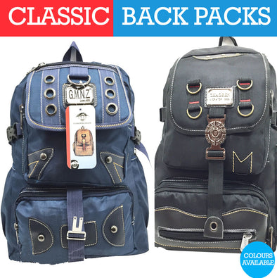 BACK PACK BLACK