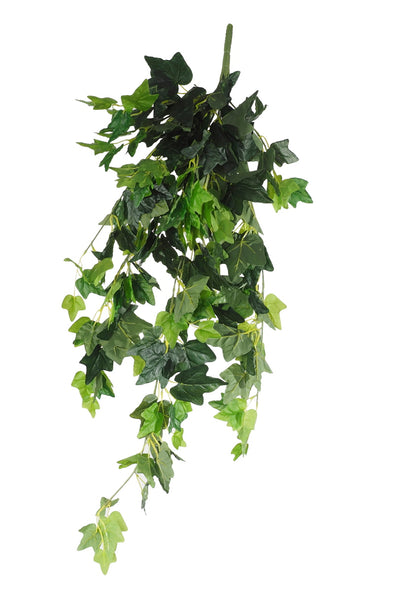 Hanging Green Ivy Bush 80cm