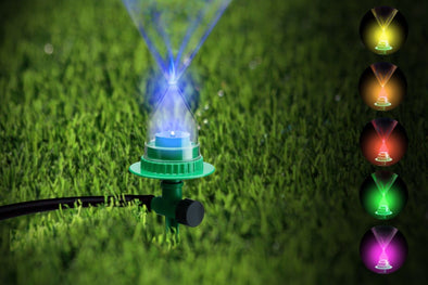 Led Garden Water Sprinkler