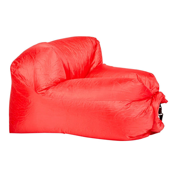 Inflatable Air Lounger - Red
