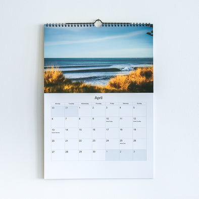 Daily Salt A3 Surf Calendar