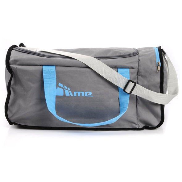 40L Foldable Gym Bag (Grey / Blue)