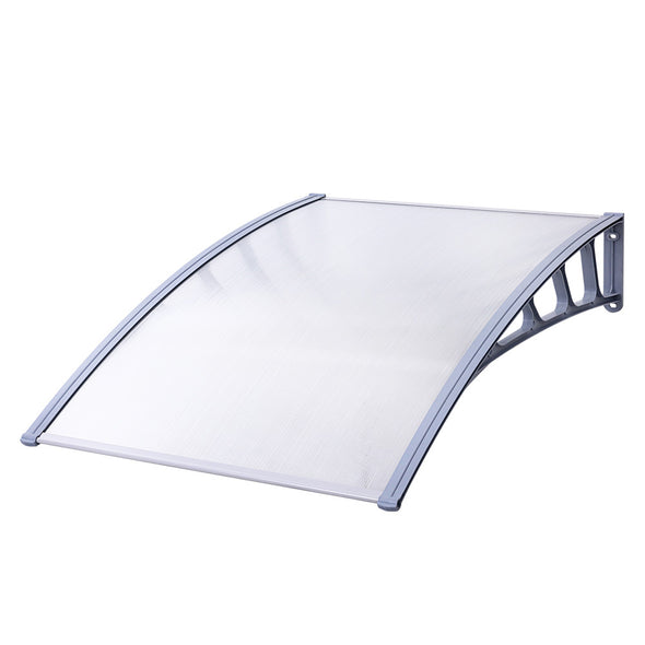 Instahut Window Door Awning Door Canopy Outdoor Patio Sun Shield 1.5mx1m DIY