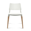 Artiss Set of 4 Wooden Stackable Dining Chairs - White