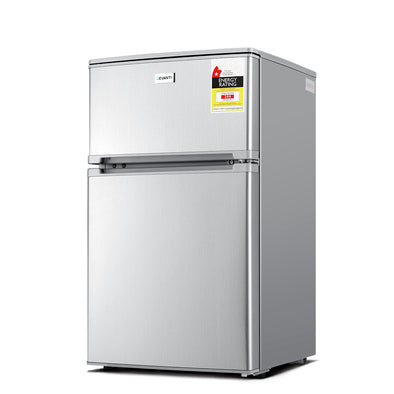 Devanti 84L Bar Fridge - Silver