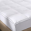Royal Comfort Bamboo Topper - 5Cm Gusset - King - 1000GSM
