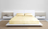 Royal Comfort Blended Bamboo Sheet Set Dark Ivory - Double
